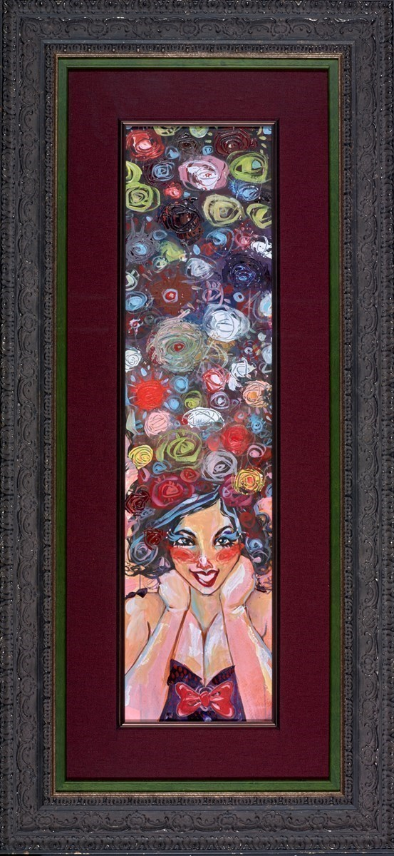 Rocket Queen by Todd White -  sized 8x30 inches. Available from Whitewall Galleries